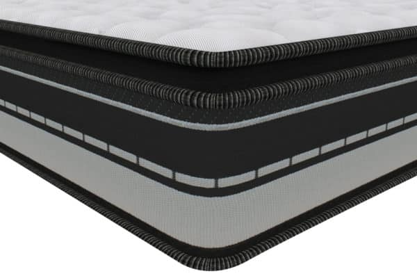 Hybrid collection -Infinity - Spring Mattress - Centuary - Corner view