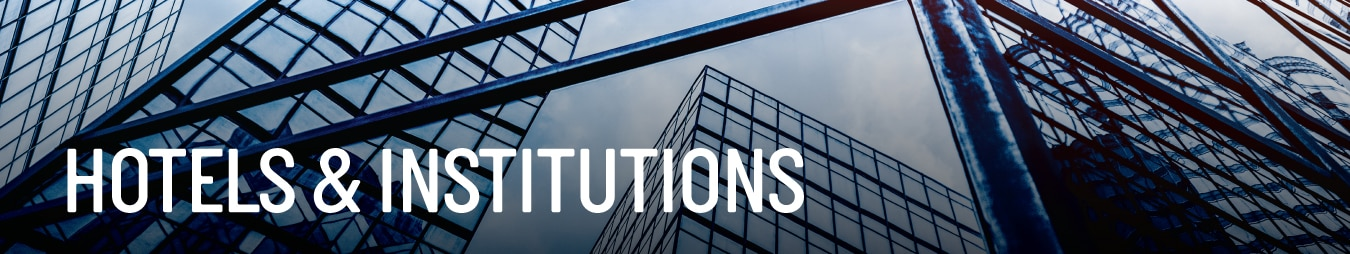 Hotels and Institutions Banner by Centuary