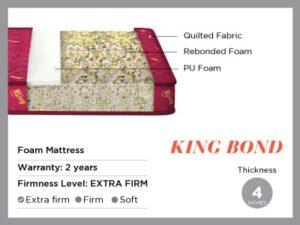 King bond- foam Mattress