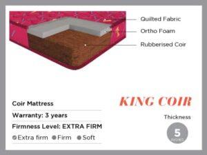 King coir-coir mattress