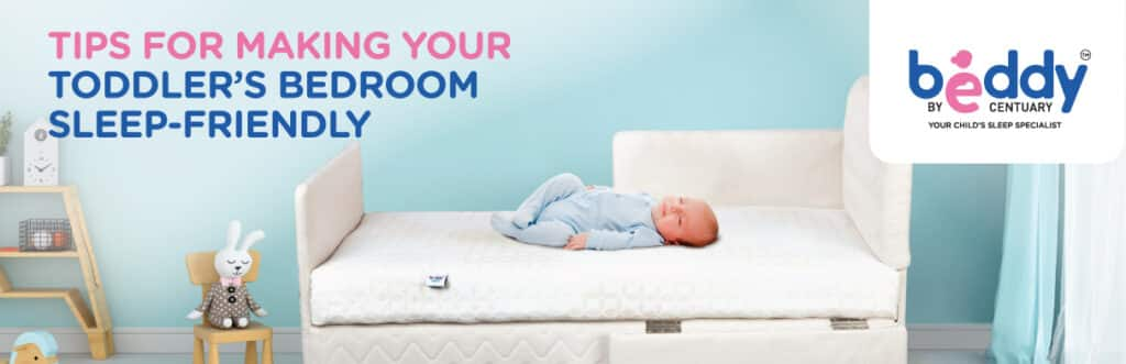 Tips for making your toddler's bedroom sleep-friendly